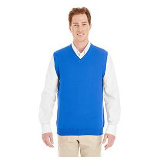 Harriton Mens Pilbloc V Neck Sweater Vest