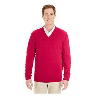 Harriton Mens Pilbloc V Neck Sweater