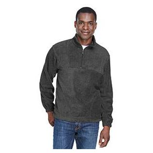 Harriton Adult 8 oz. Quarter Zip Fleece Pullover