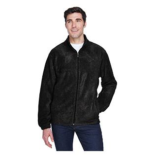Harriton Mens Tall 8 oz. Full Zip Fleece