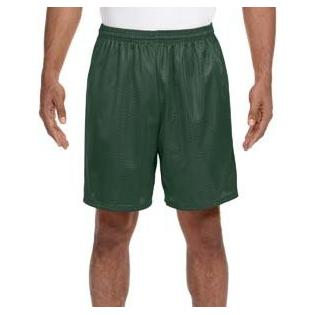 A4 Adult Seven Inch Inseam Mesh Short