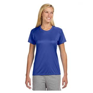 A4 Ladies Short Sleeve Cooling Performance Crew