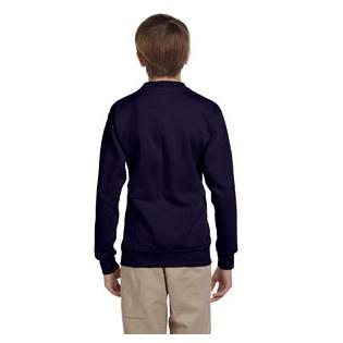 Hanes Youth 7.8 oz. ComfortBlend EcoSmart 50/50 Fleece Crew