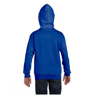 Hanes Youth 7.8 oz. EcoSmart 50/50 Full Zip Hood