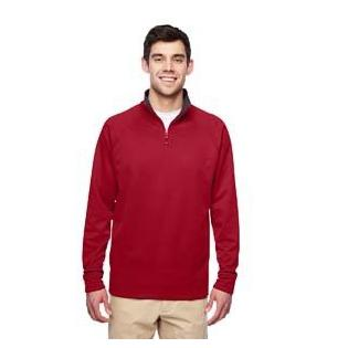 Jerzees Adult 6 oz. DRI POWER SPORT Quarter Zip Cadet Collar Sweatshirt
