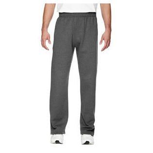 Fruit of the Loom Adult 7.2 oz. Sofspun Open Bottom Pocket Sweatpants