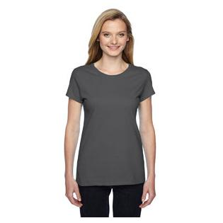 Fruit of the Loom Ladies 4.7 oz. Sofspun Jersey Junior Crew T-Shirt