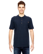 Dickies Mens 6.75 oz. Heavyweight Work Henley