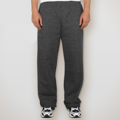 Champion Youth 9 oz. Double Dry Eco Open Bottom Fleece Pant