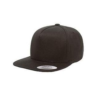 Yupoong Adult 5 Panel Cotton Twill Snapback Cap