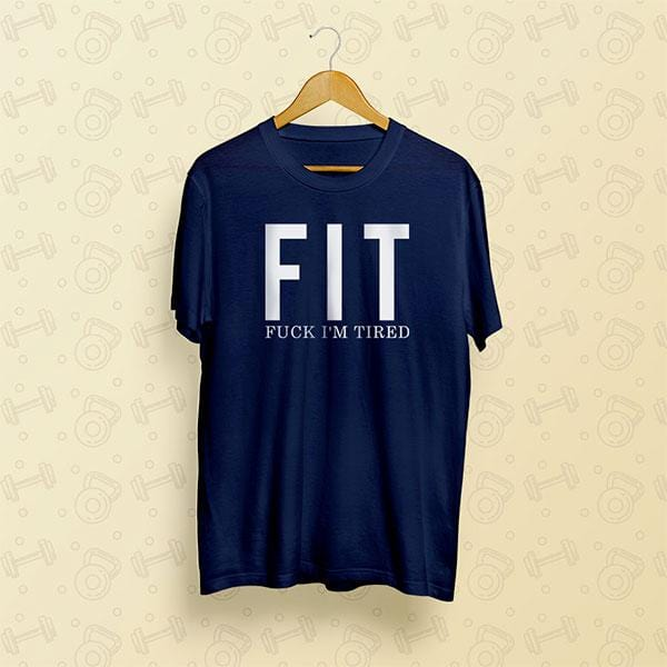Printed gym t shirt