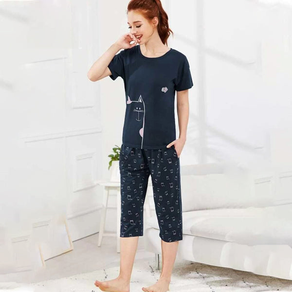 KITTY Lounge Capri Set for women