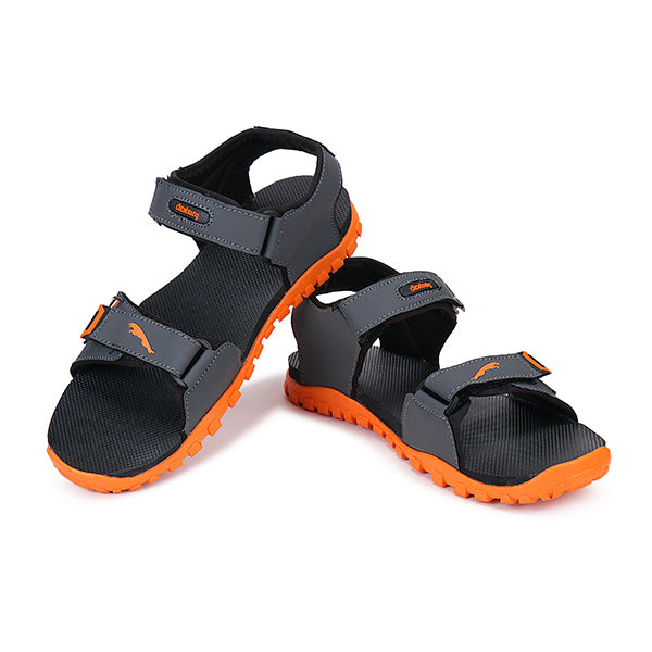 Density Adjustable Strap Orange Sandals