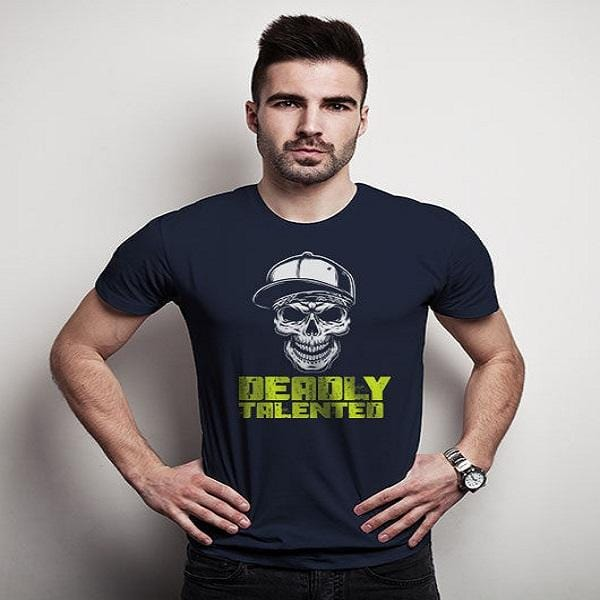 Deadly printed t shirts