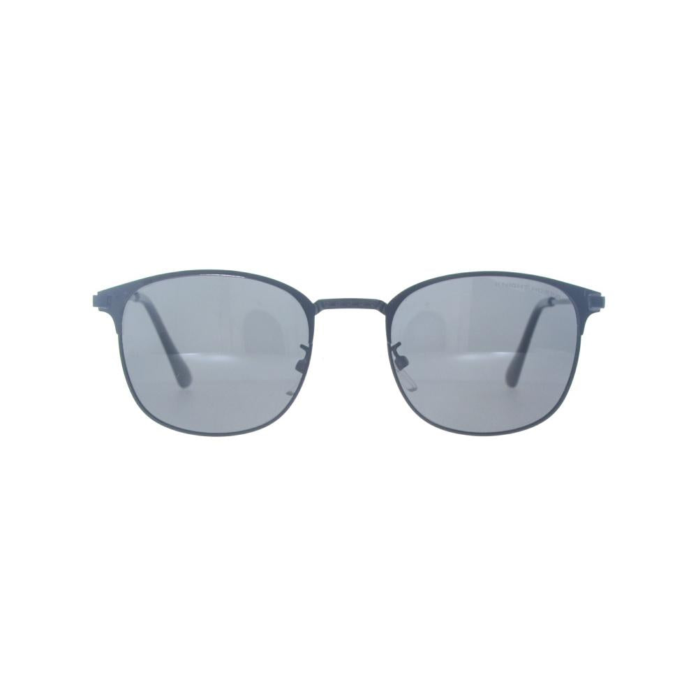 KNIGHT HORSE KN S10006 KN-S-10006 Matte-Black Large Square Full Rim UVSunglasses