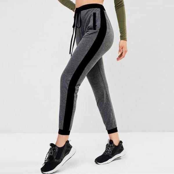nylon track pants womens