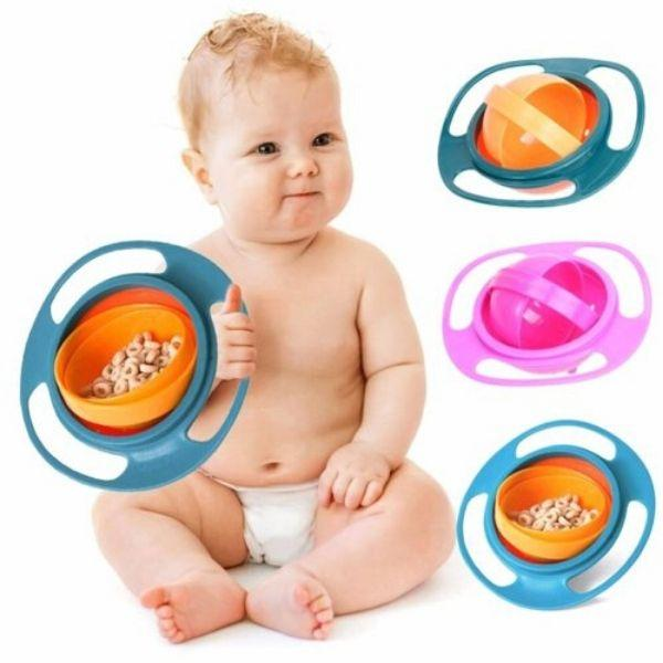 Gyroscopic Bowl For Kids