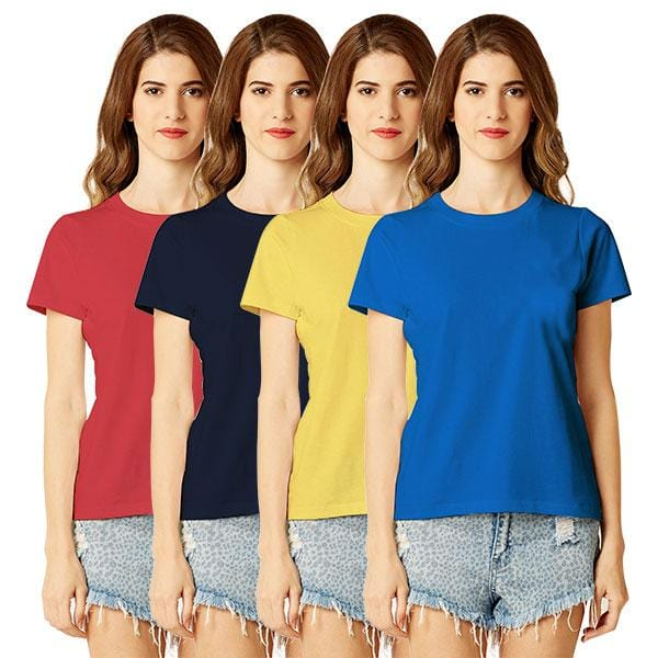 Combo colored women t shirts