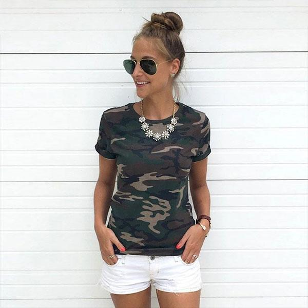 Printed t shirts for women