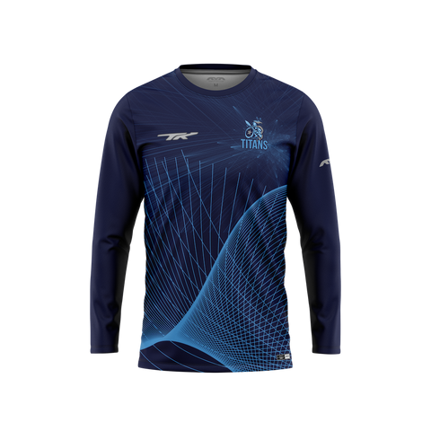 Tshwane Titans Official TK Long-Sleeve Warm Up-T