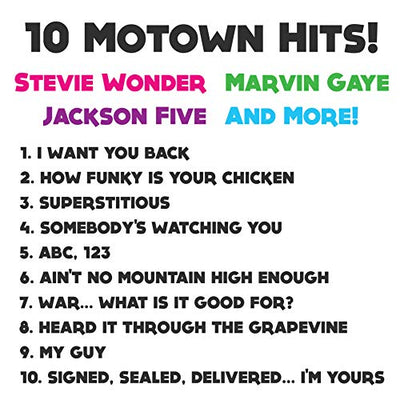 Motown Magic Toy Guitar with 10 Famous Songs - Toy Guitar For Kids