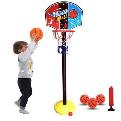 Basketball Set for Kids 1-5 - Toy Basketball Hoop Game for Children
