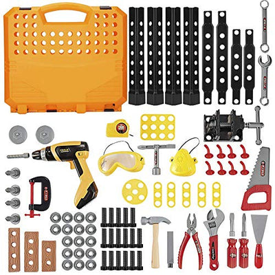 Standard Workbench Toy Tool Play Set with 82 Pieces