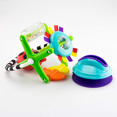 9 Piece Gift Set for Newborns - Teethers, Bumpy Ball & More