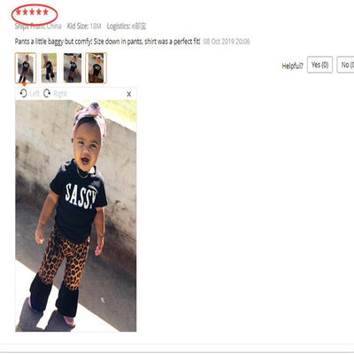 Sassy Baby Summer 2020 Shirt & Leopard Pants - The Sassy Baby