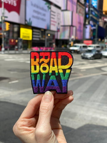 Broadway Pride Embroidered Patch