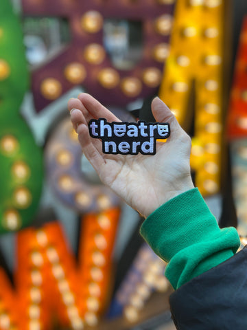 Theatre Nerd Embroidered Patch