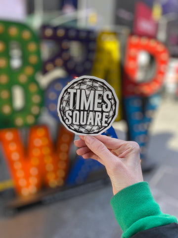 Times Square Ball Sticker