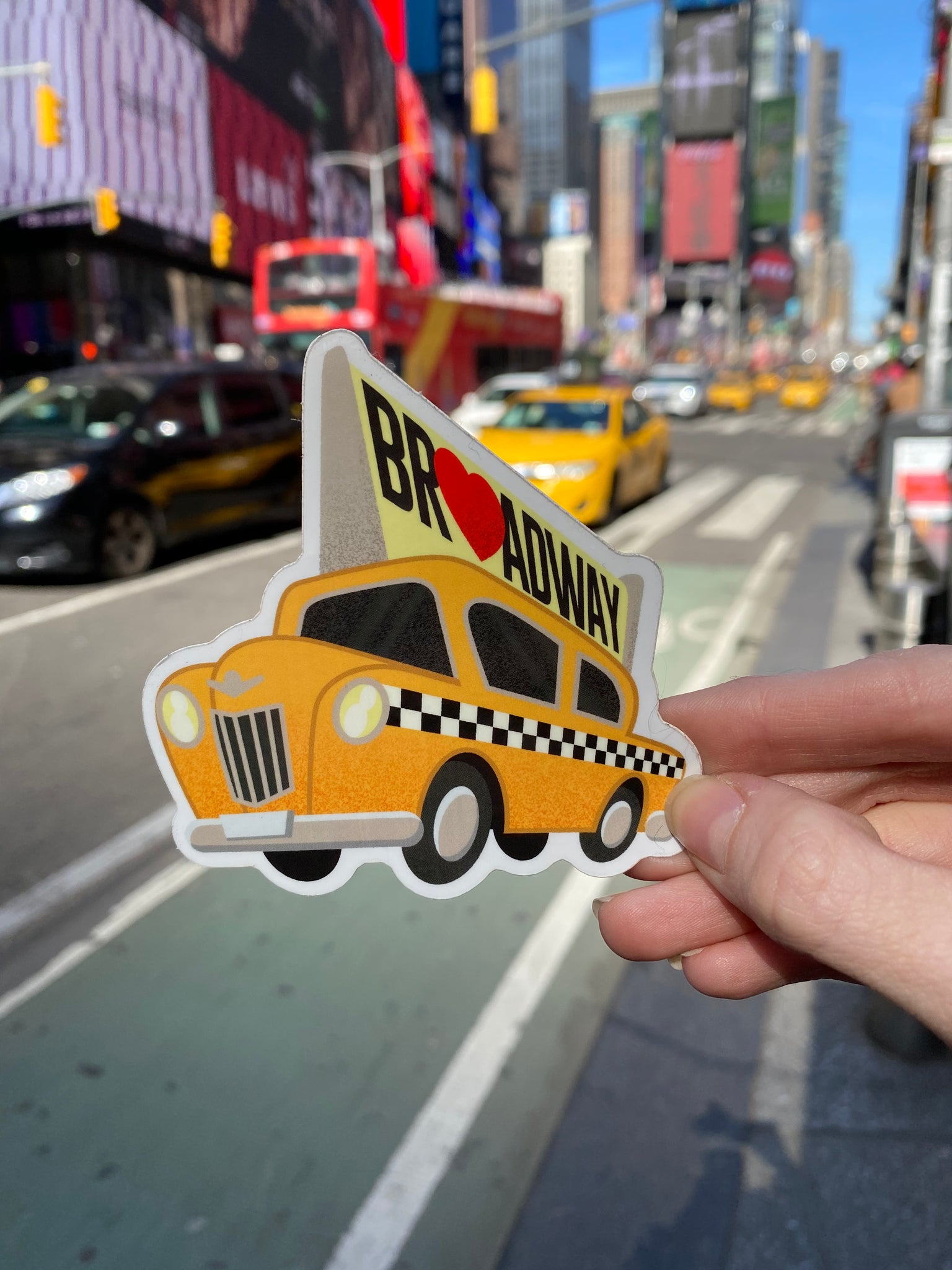Taxi Cab Sticker