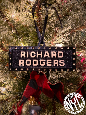 Richard Rodgers Marquee Ornament