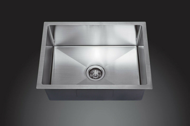 Juno Handmade Stainless Steel Sink 200mm Deep
