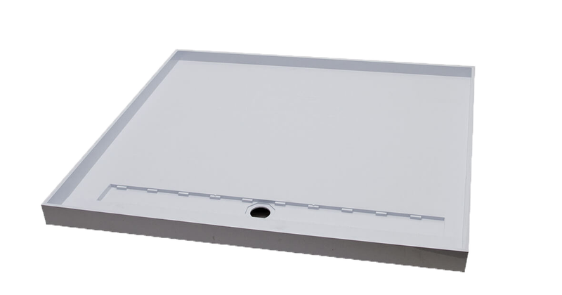 Akril Torbex Tile Over Shower Tray Grate/Outlet 1200-1500mm