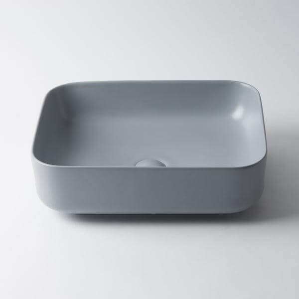 Amaroo Rectangle Matte Ceramic Basin 500mm