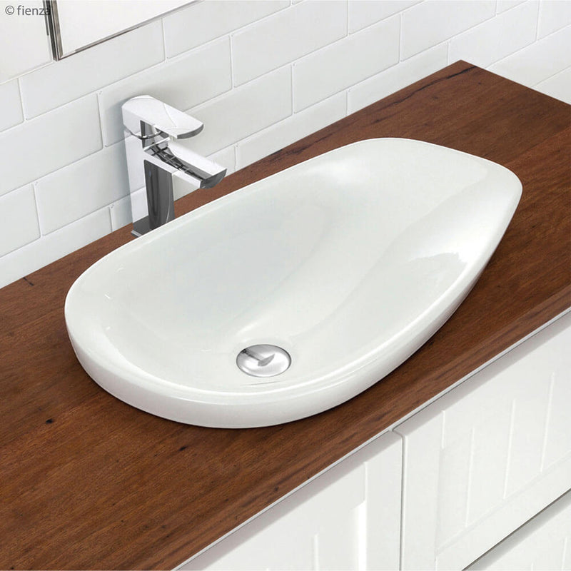 Dayo Oval Shape Semi-Inset Ceramic Basin