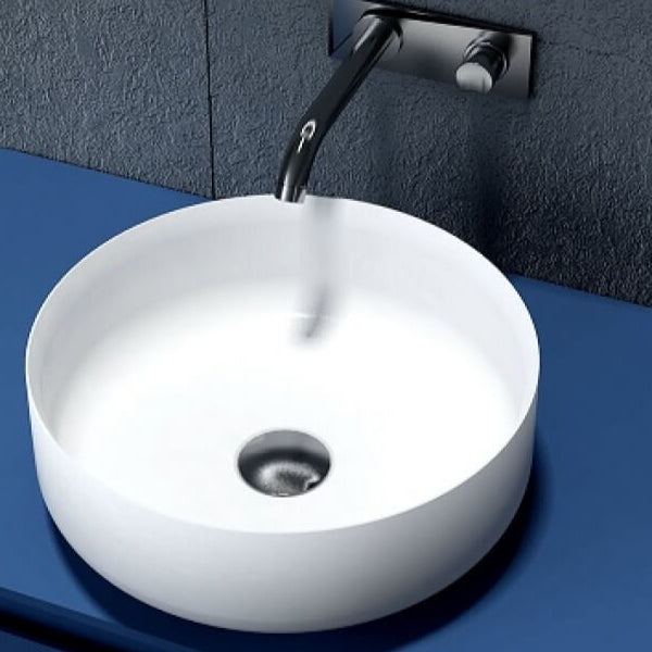 Dahlia Round Solid Surface Basin 360mm