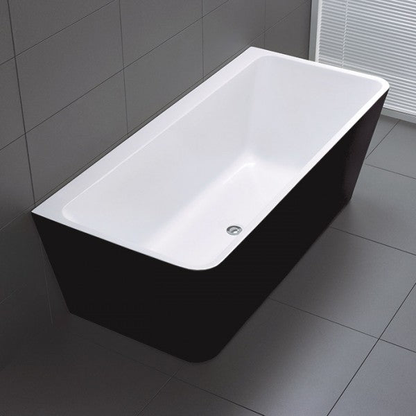 Florence Back to Wall Freestanding Bathtub