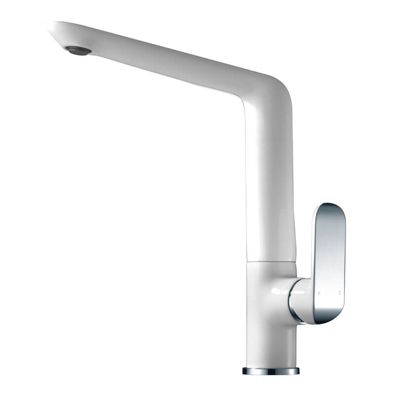 Kara Ikon Swivel Sink Mixer Curved Tip Handle