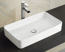 Thalia Thin Edge Rectangular Ceramic Basin