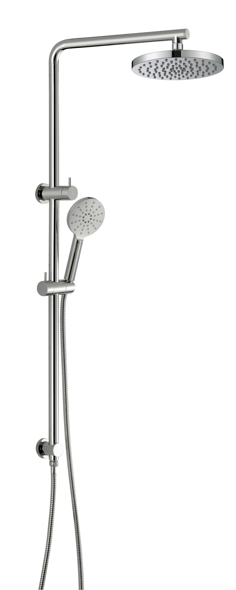 Eli Rain Shower Handset Combo Sliding Shower Rail