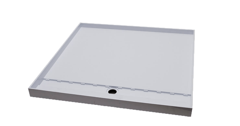 Akril Torbex Tile Over Shower Tray Grate/Outlet 900x900mm