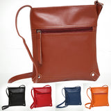 Simple Women Faux Leather Travel Daily Cross Body Shoulder Messenger Bag Gift