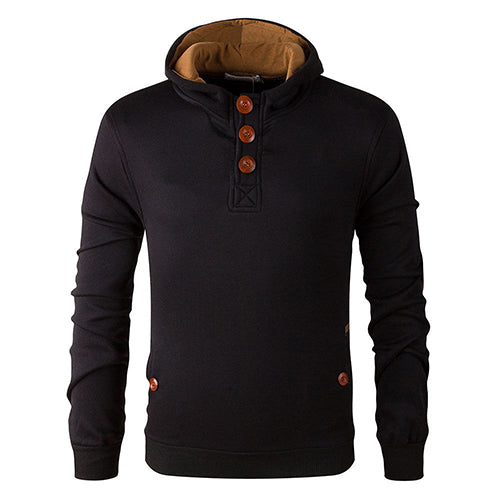 Fashion Men's Slim Warm Hooded Sweatshirt Hoodie Coat Jacket Outwear Sweater