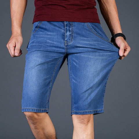 Summer Brand Stretch Thin high quality cotton Denim Jeans