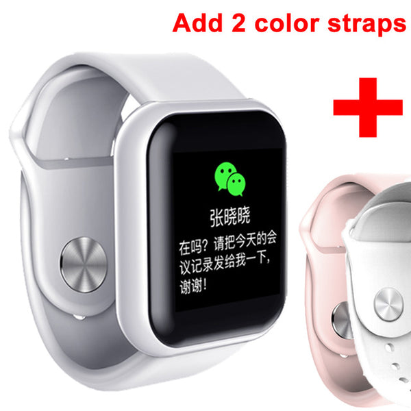 Blood Pressure Smartwatch Heart Rate Monitor Sleep Tracker Clock Watch For Android IOS