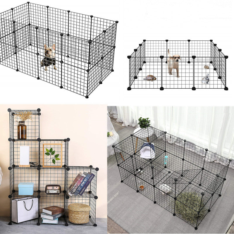 Small Pet Pen Bunny Cage Dogs Playpen Indoor Out Door Animal Fence