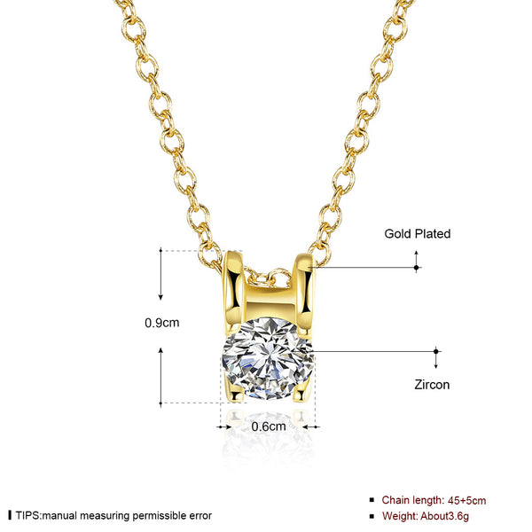 N801-C 2016 New Fashion Gold Plated Necklace